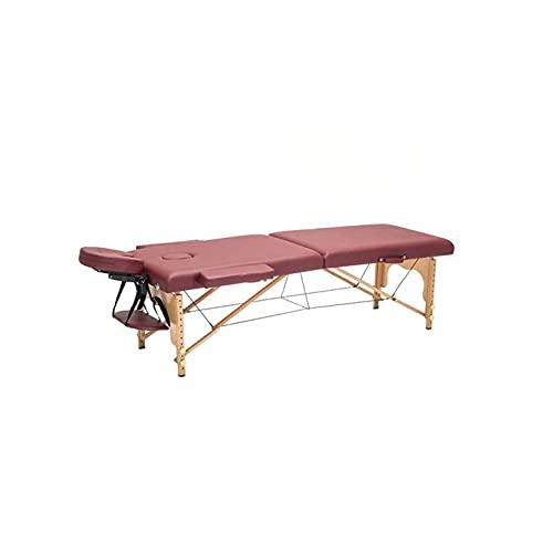 KSDCDF Table de Massage Lit de Massage Portable lit Spa Grand Hauteur Hauteur réglable Table de...