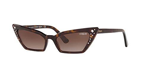 Vogue Eyewear 0VO5282SB Occhiali da Sole, Multicolore (Dark Havana), 54.0 Donna