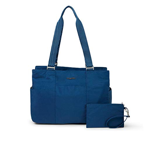 Baggallini East West Tote, Pacific