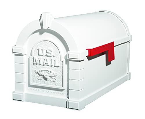 Gaines - Keystone Series Mailbox - White with White Eagle