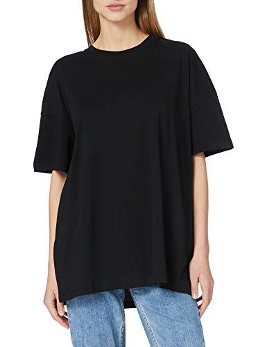 Only ONLAYA Life S/S Oversized Top JRS Noos Camiseta, Negro, S para Mujer