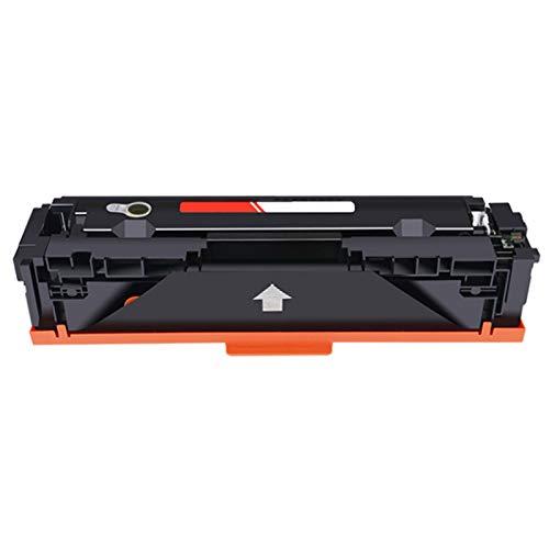 XDXD - Cartucho de tóner para HP CF500A (repuesto para impresora HP Color Laserjet Pro M254nw 254dw 280nw 281fdn 281fdw con chip de...