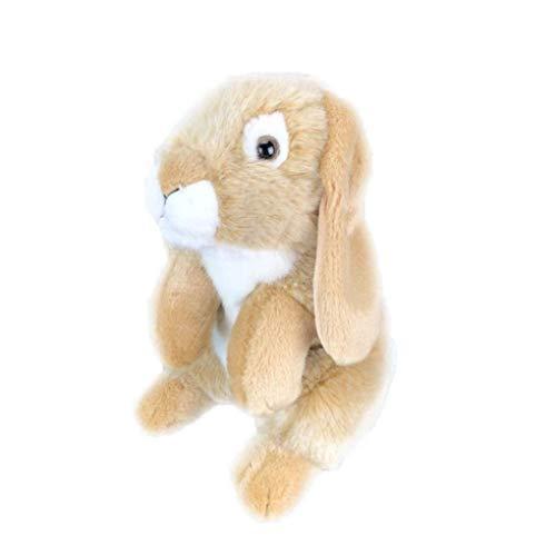 Knuffel, Simulatie Lange Oren Konijnen Knuffels Knuffels Pop Soft Bunny For Kids Verjaardagscadeautjes 26cm grijs