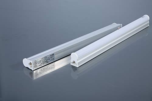 Regleta LED 120 cm 18 W para cocina | garaje | sótano y escaleras | LED integrado, color blanco frío y conectables entre varios (120 cm)