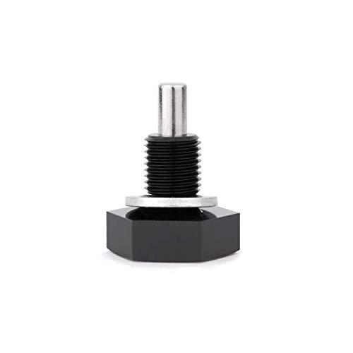 Mishimoto MMODP-1220UNFBBK Magnetische Ölablassschraube 1/2-20UNF, Schwarz
