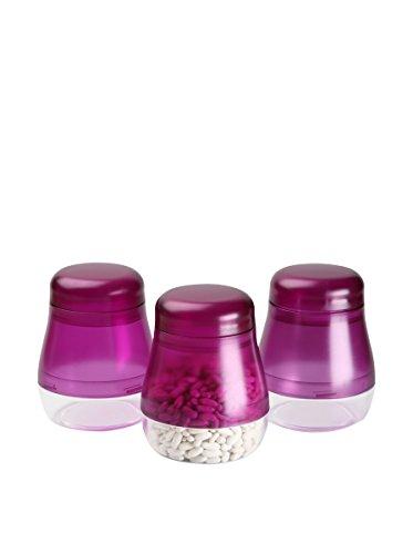 Zings Set Pot à épices 3 unités. Violet