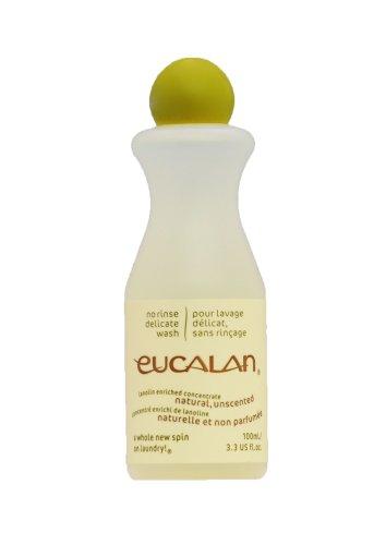 Eucalan, Lavage Délicat Naturel non Parfumé, 100 ml