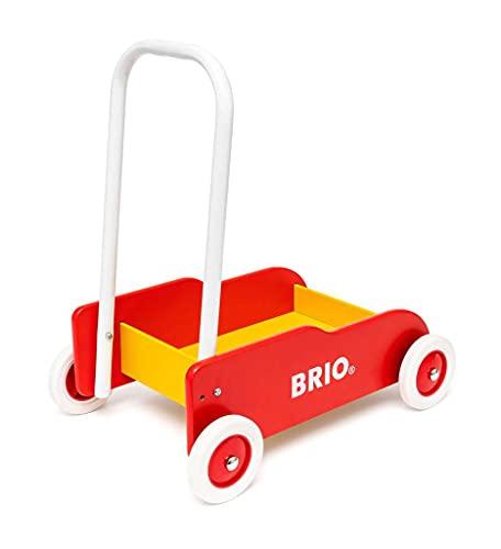 Brio 31350 – Lauflernwagen rot-gelb - 6