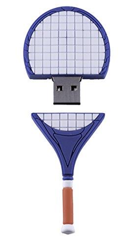 Raqueta de Tenis Deporte 16GB - Sport Tennis Racket: Amazon.es ...