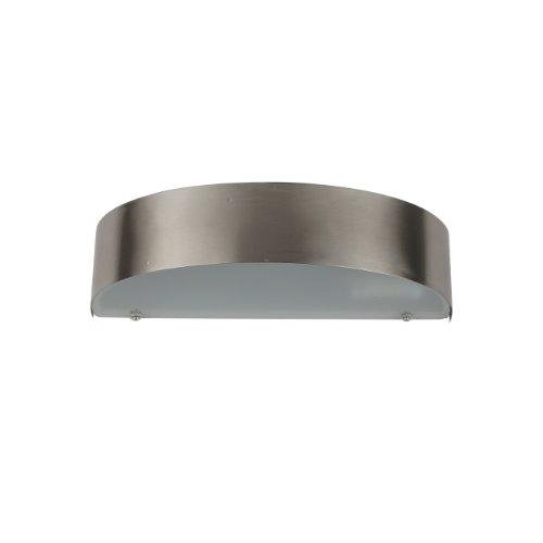 Ranex 5000.350 energiebesparende wandlamp voor buitengebruik, half rond, verlichting van de muur onder