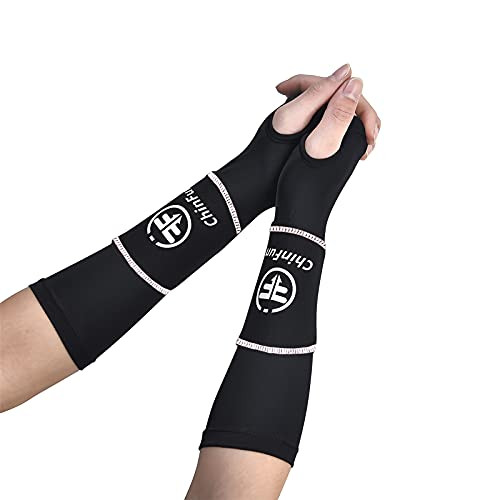 Volleyball Arm Sleeves Passing Forearm Padded Sleeves with Protection Pads and Thumbhole volleyball training Gear for Teen Girls Youth Women 1 Pair