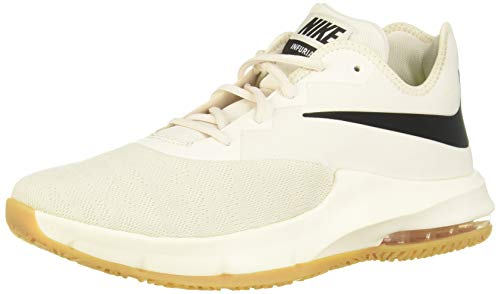 Nike Herren Air Max Infuriate Iii Low Basketballschuhe, Mehrfarbig (Phantom/Black/Wolf Grey/Gum Light Brown 5), 40 EU