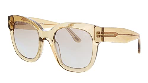 Sunglasses Tom Ford FT 0613 Beatrix- 02 45F shiny light brown / gradient,...