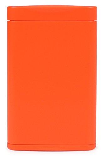 WINDMILL(ウインドミル) 携帯灰皿 ハニカムスリム スライド式 4本収納 オレンジ 599-1003