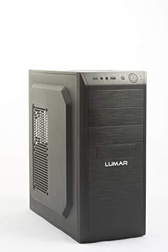 LUMAR Ordenador Sobremesa/Intel Core i7 Up to 4x3,9Ghz/8GB RAM DDR3/3TB HDD/DVDRW/HDMI/USB 3.0/Windows 10 Pro Trial