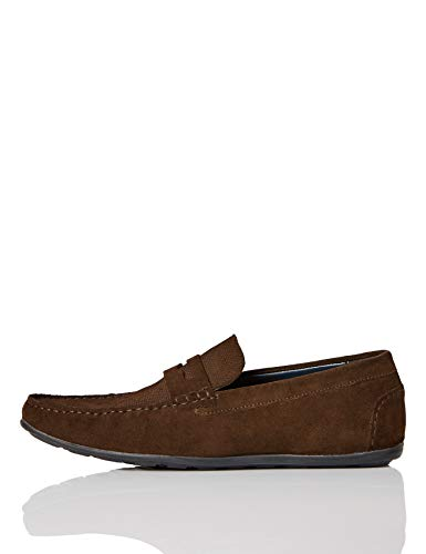 find. Alto, Men's Loafers, Brown (Chocolate Brown), 8 UK (42 EU)