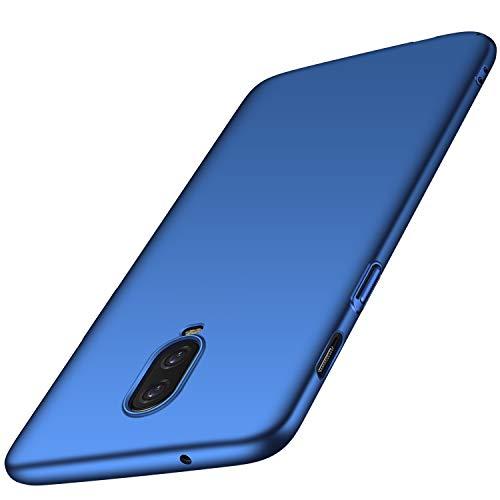 OnePlus 6T Hülle, Anccer [Serie Matte] Elastische Schockabsorption & Ultra Thin Design für OnePlus 6T (Glattes Blau)