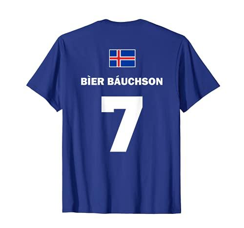 Isländische Namen Island Sauf Trikot Fußball Mallorca T-Shirt