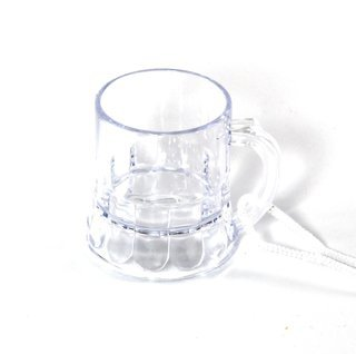 10x Schnapsglas am Band, Henkelstamper, Pinnecken, Pinnchen