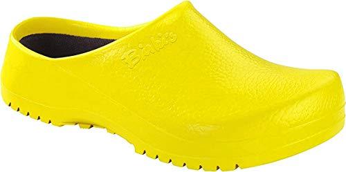Birki Super Yellow, Zuecos para Mujer, Amarillo, 41 EU