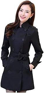 Hashoob Ladies Long Coat Jacket Women Cotton Casual Trench Coat CH-01