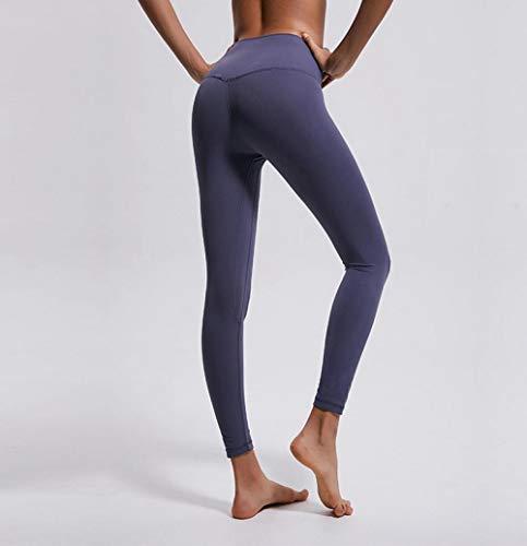 Leggings de deportivos Gym únicos,Pantalones de yoga de camuflaje Mujeres Fitness de cintura alta,leggings deportivos de tacto desnudo-Light_Purple_Gray_XL,Pantalones deportivos de cintura alta super