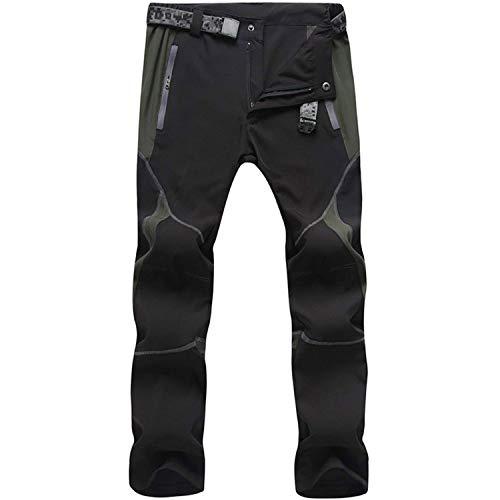 Freiesoldaten de los Hombres Exterior Pantalones de Senderismo Hidrófugo...