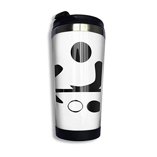 Hdadwy Go (Spiel) Piktogramm Reisebecher Kaffeetasse Edelstahl Vakuumisolierter Becher 13,5 Unzen