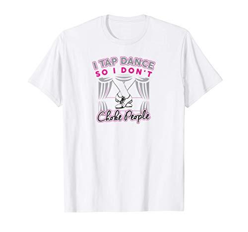 Regalo de claqué para los bailarines de claqué Camiseta