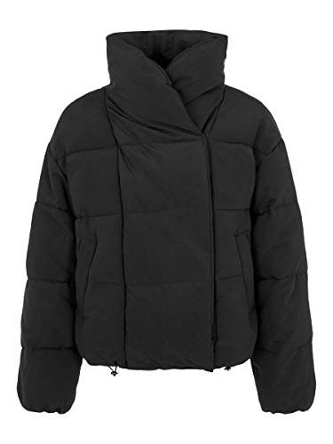 PIECES Female Wattierte Jacke Kurze LBlack