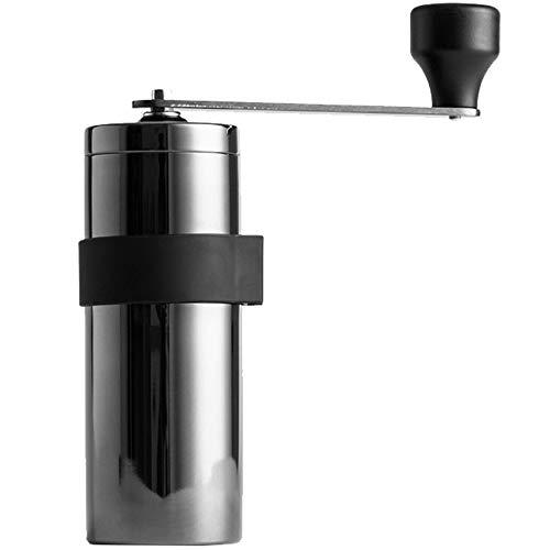 household items Molinillo de café Manual, Sistema de preparación de café con una Capacidad de 17 g, cafetera portátil, Molinillo de café con Mango Desmontable, Apto para Uso doméstico al Aire Libre