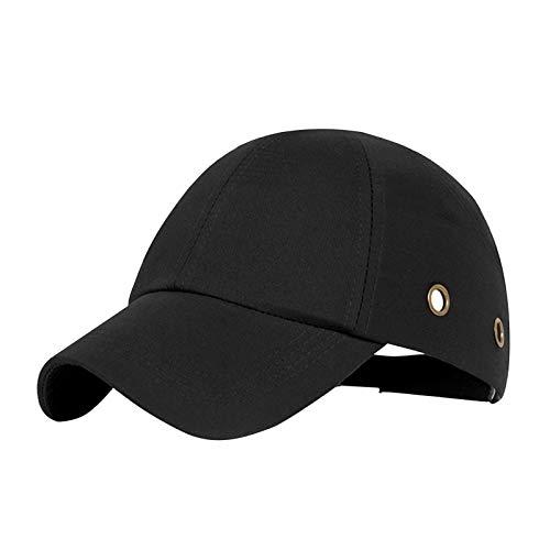 POHOVE Gorra protectora, gorra de béisbol, gorra de béisbol de seguridad, cinta ajustable, ligera y transpirable, para trabajadores de mantenimiento (tipo A)