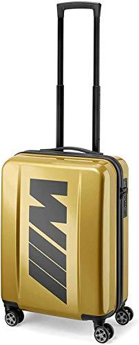 BMW M Boardcase - Valigia a mano, 46 l, colore: Oro