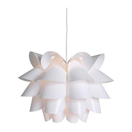 IKEA Hängelampe KNAPPA, Weiß (46cm)