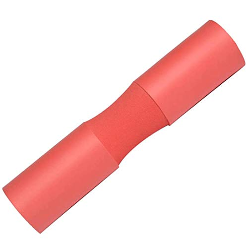 ZYLD Barbell Pad Squat Pad Weight Pad Support Sponge for Squats Lunges and Hip Thrusts Neck& Shoulder Protective Pad Fits Standard (Color : Red)