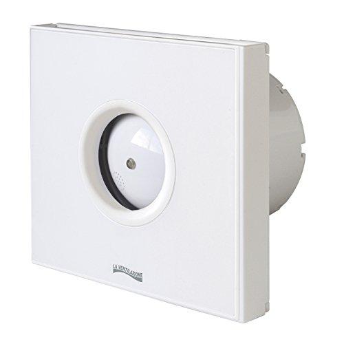De ventilatie GIOTTO10BTH Extras design extra bord wit voor gat diameter 100 mm / 4