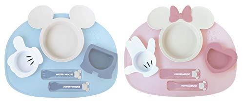 錦化成アイコンランチプレートミッキーマウス
