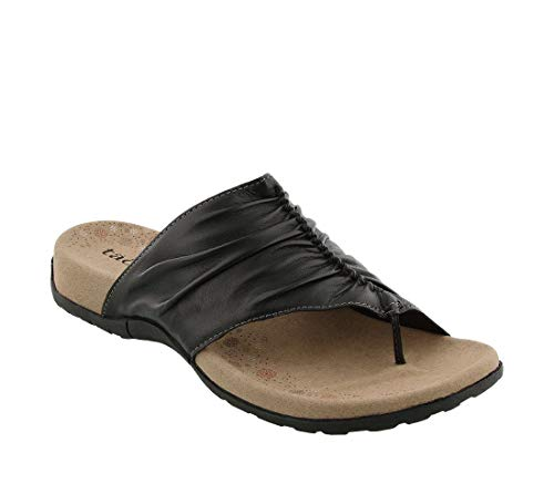Taos Footwear Women's Gift 2 Black Sandal 9 M US