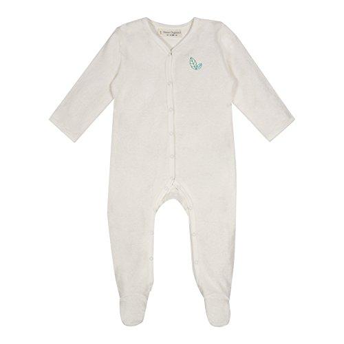 Sense Organics YSIOR Grenouillère, Blanc (Rfd Ecowhite 000010), 2 Mois Mixte bébé