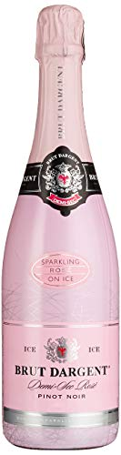 Brut Dargent Ice Rosé Méthode Traditionnelle Halb trocken Sekt, 750ml