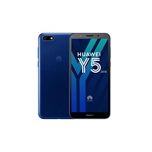Huawei Y5 2018 Smartphone da 16 GB con MicroSD, Blu, [Italia]