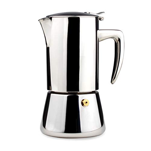 Purchase Shentesel Coffee Maker Stainless Steel Heat-resistance Mocca Espresso Percolator Pot 200ml