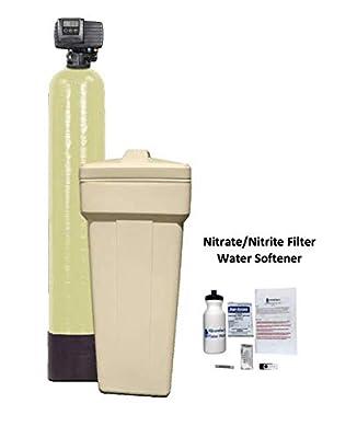 AFW Filters Built Digital Nitrate/Nitrite Filter Water Softener 1 Cu Ft 50/50 Resin Blend with Fleck 5600SXT