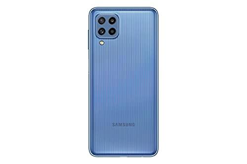 Samsung Galaxy M32 Android Smartphone ohne Vertrag, 6,4-Zoll -Infinity-U-Display, starker 5.000 mAh Akku, 128 GB/6 GB RAM, Handy in Blau, deutsche Version exklusiv bei Amazon - 3