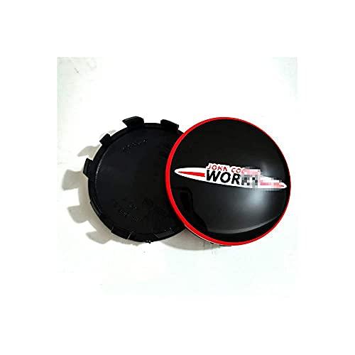 YQTYGB 4 Piezas Coche Tapas Centrales De Llantas Cubiertas, para BMW Mini La Cubierta Decorativa con Accesorios De Estilo del Logotipo