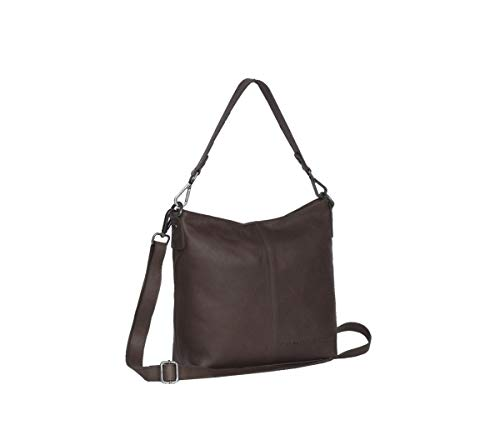 The Chesterfield Brand Wax Pull-Up Jen Schultertasche Leder 25 cm