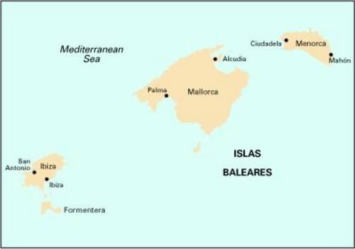 Imray Chart M3: Islas Baleares