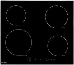 Table De Cuisson Induction 4 foyers Avec Minuterie – BELDEKO TI4V-107