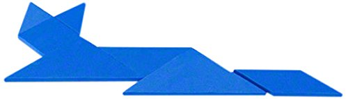 Magnet Expert Educational Tangram, Logic Puzzle & Maths Game, Blue, 1pc