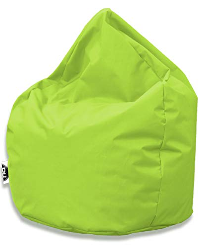 PH Patchhome Sitzsack Tropfenform - Kiwi für In & Outdoor XL 300 Liter - mit Styropor Füllung in 25 versch. Farben und 3 Größen